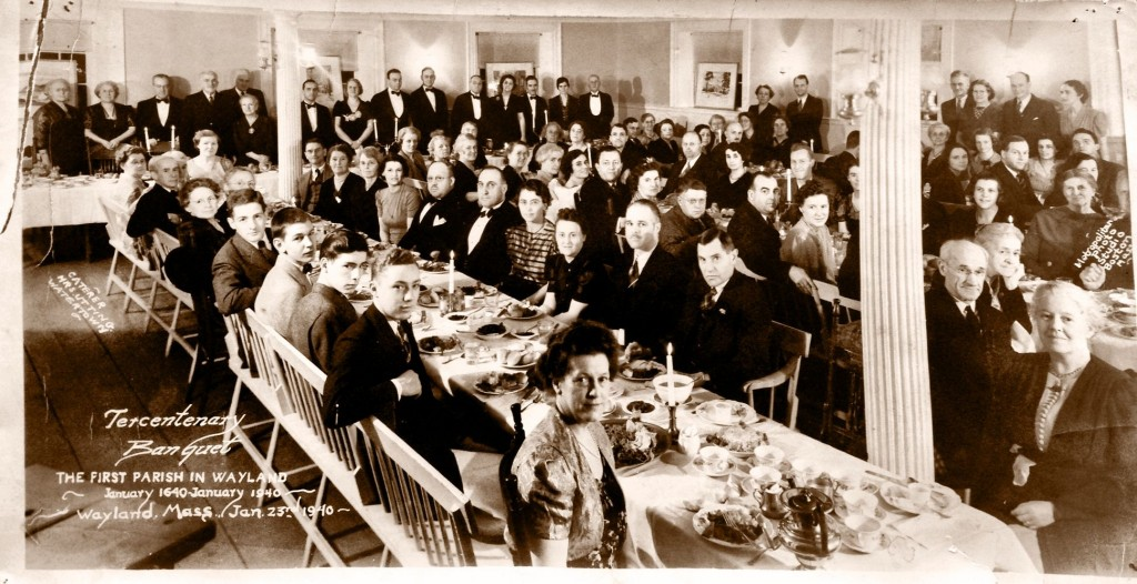 Tercentenary Banquet of 1940.