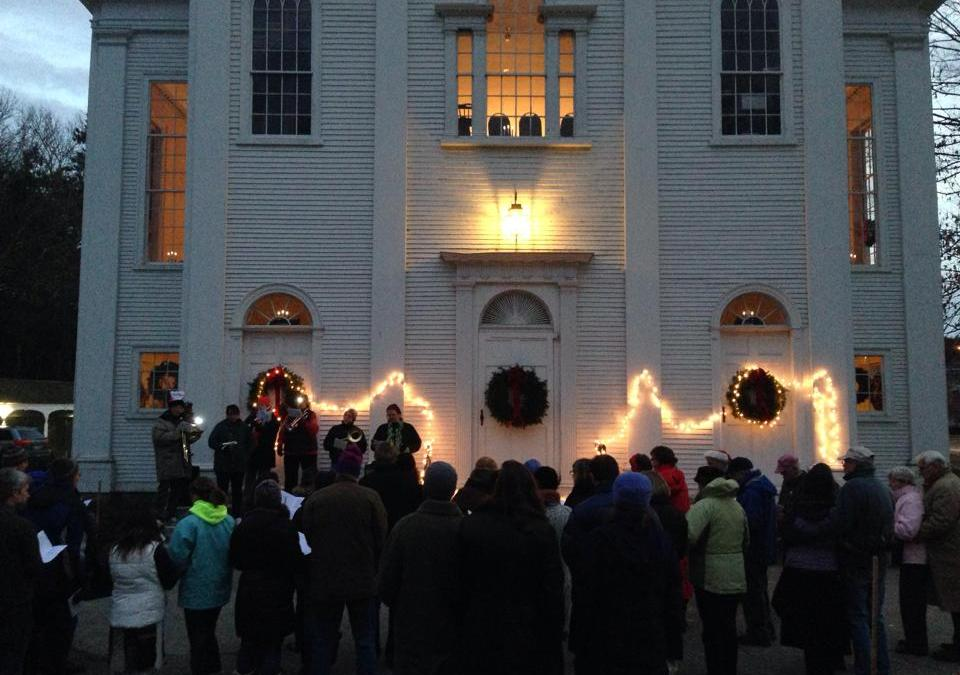 Join the Carol Sing: Dec. 6 at 4:30pm