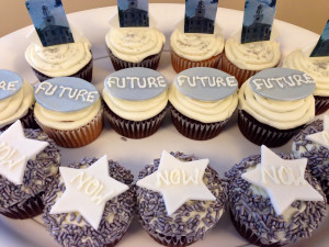 Cupcakes with Future Now Logo
