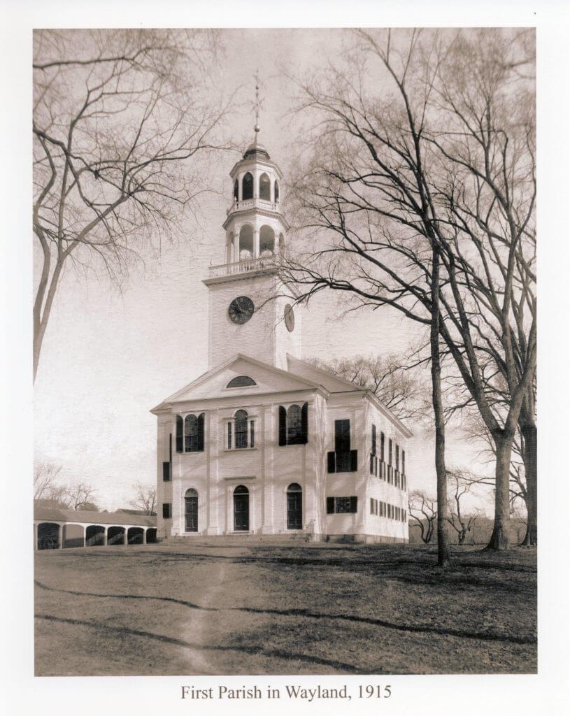 First Parish in Wayland - 1915