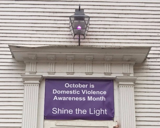 Shine a Purple Light: October is Domestic Violence Awareness Month