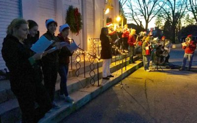Here We Come A-Caroling……