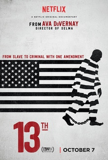 """13th"" Film Screening: Sun. April 30, 7pm"